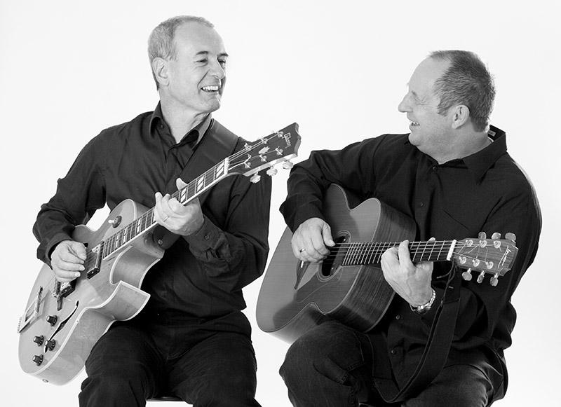 Guitar Tales: Nilo Bortot (links) und Markus Graf. Foto Gabriela Feldmann